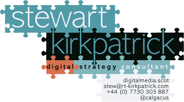 Stewart Kirkpatrick, Digital Consultant