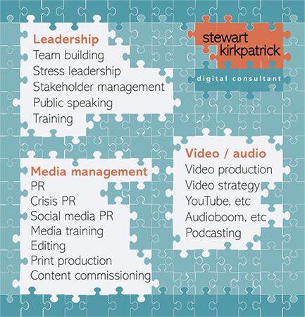 Stewart Kirkpatrick - Digital Consultant Services